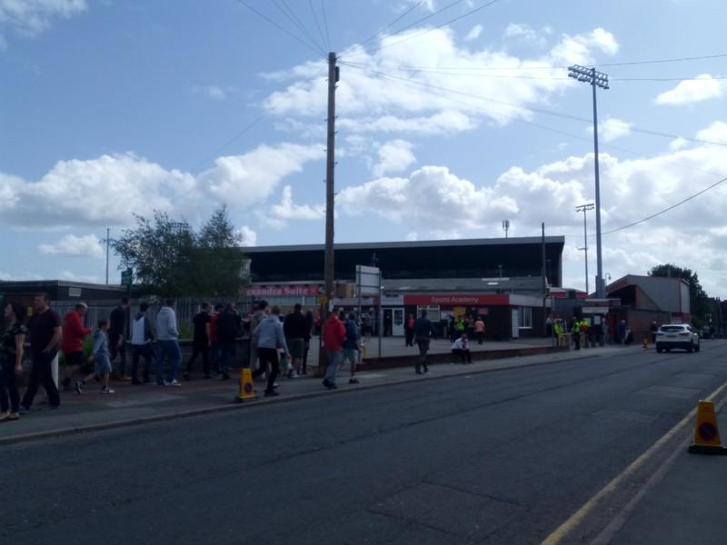 Football Ground.