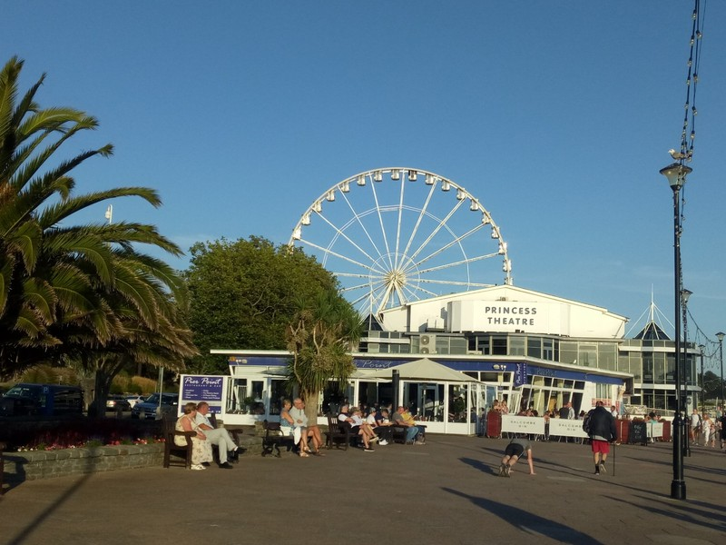 The English Riviera Wheel.