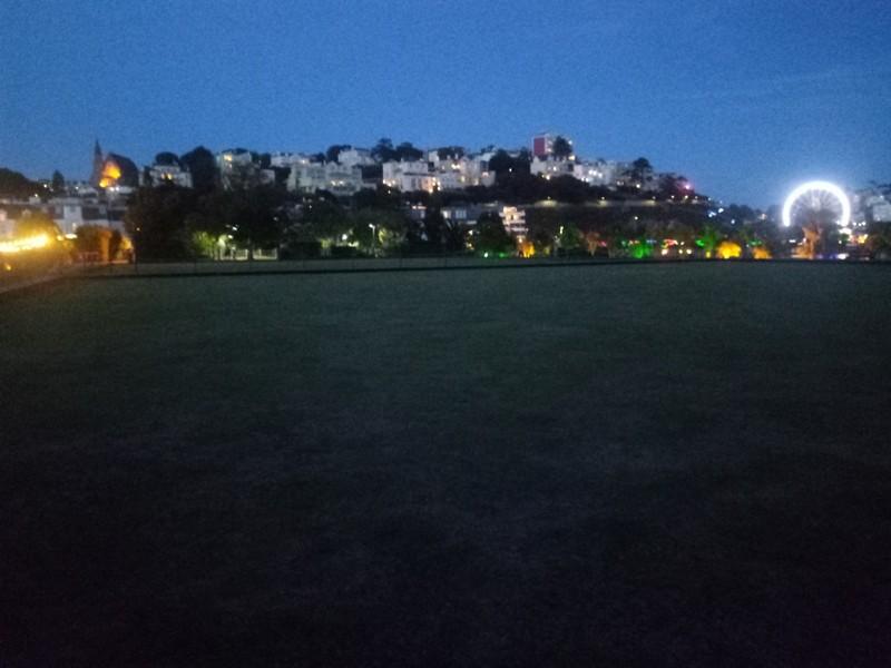 Torquay by night.