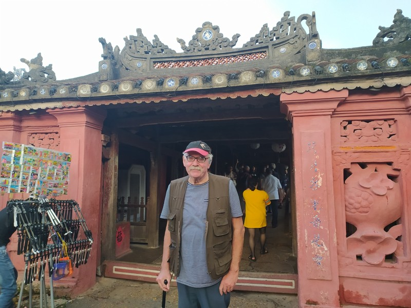 And with a temple.