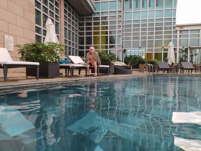 Swimming pool.