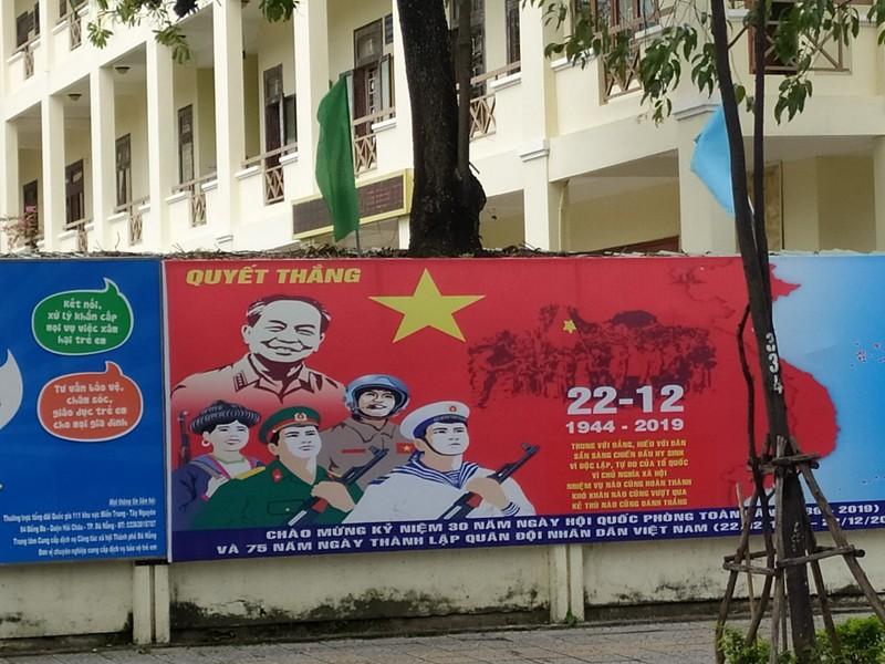 Propaganda posters.