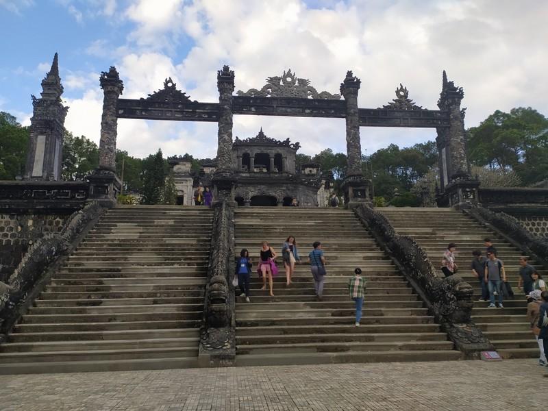 Tomb of Khai Dinh.