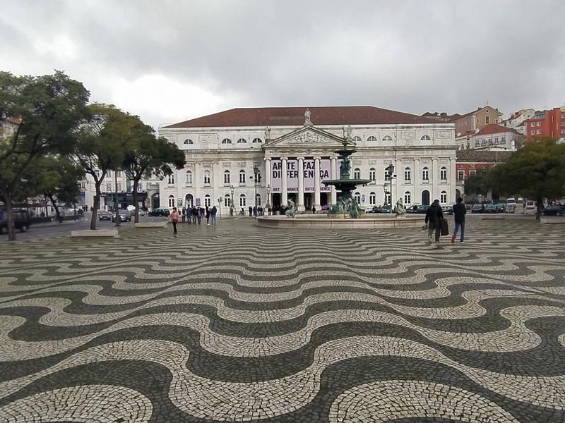 Rossio Square.