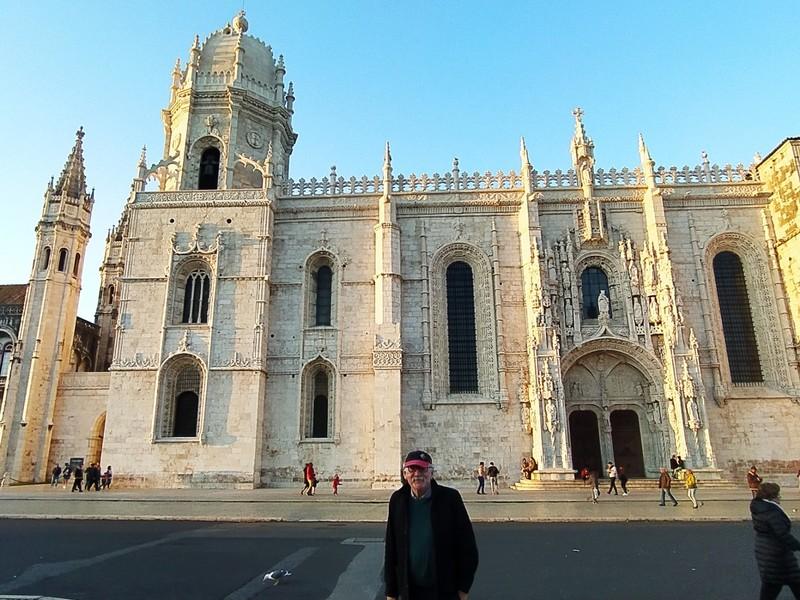 The Jeronimos Monastery.