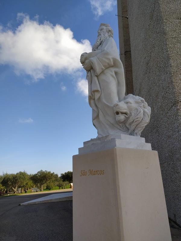 Statues.
