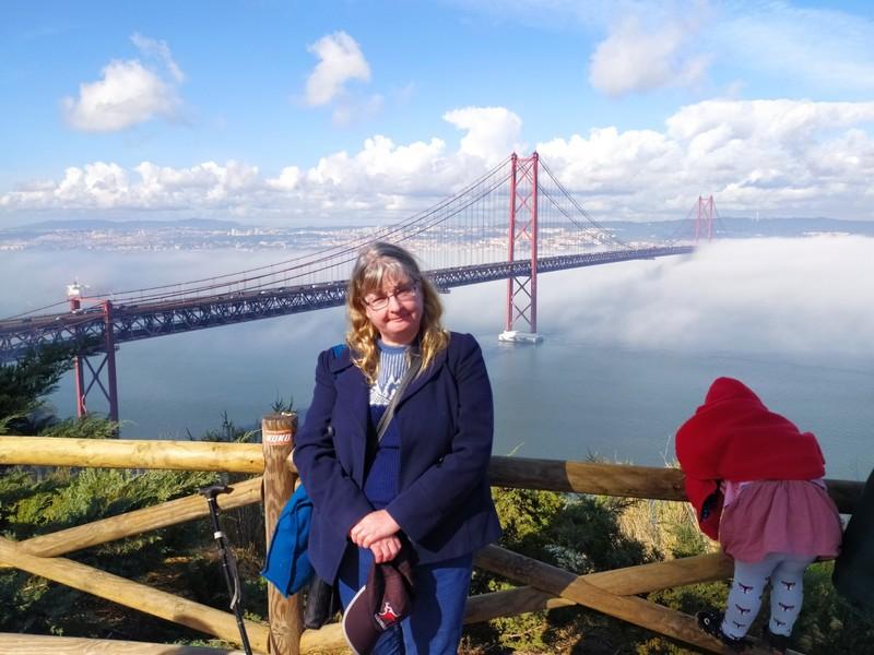 The bridge in the fog.
