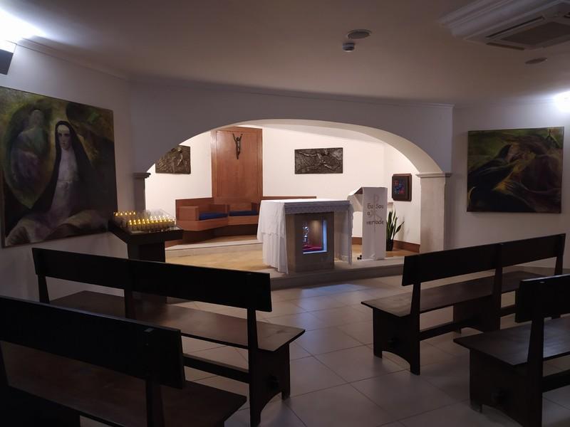Chapel on the upper floor.