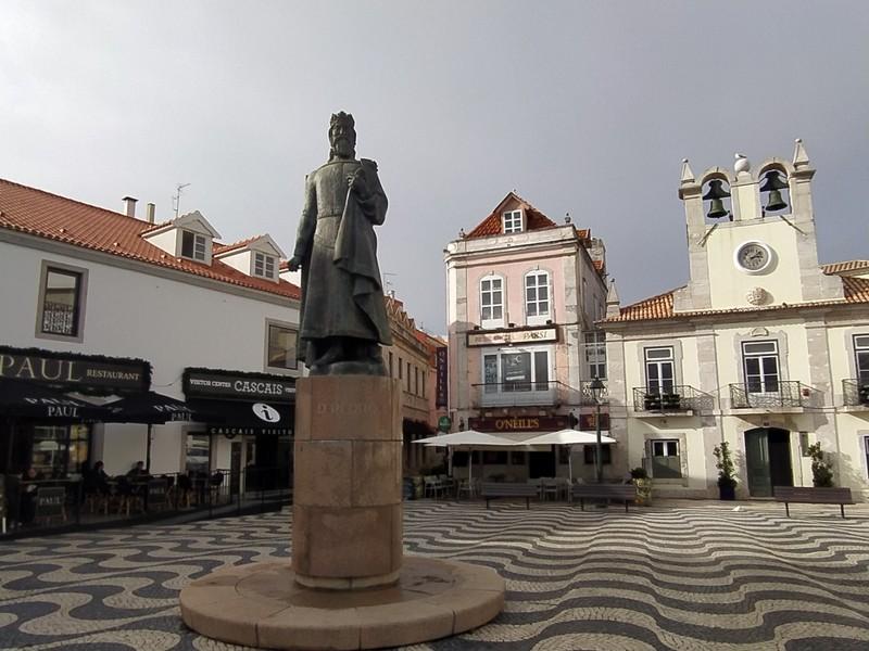 Cascais main square.