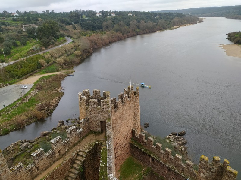 Views from the castle.