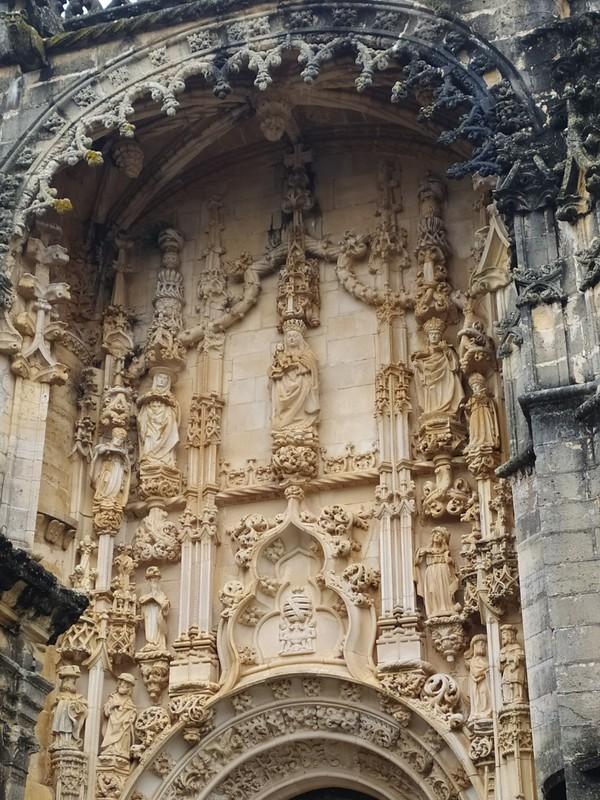 Restored Convent Doorway.
