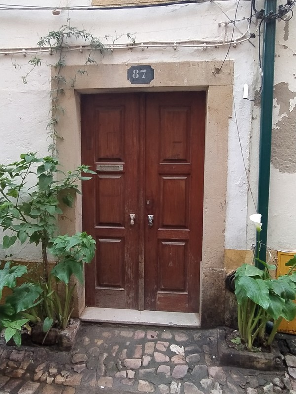 Nearby doorway.