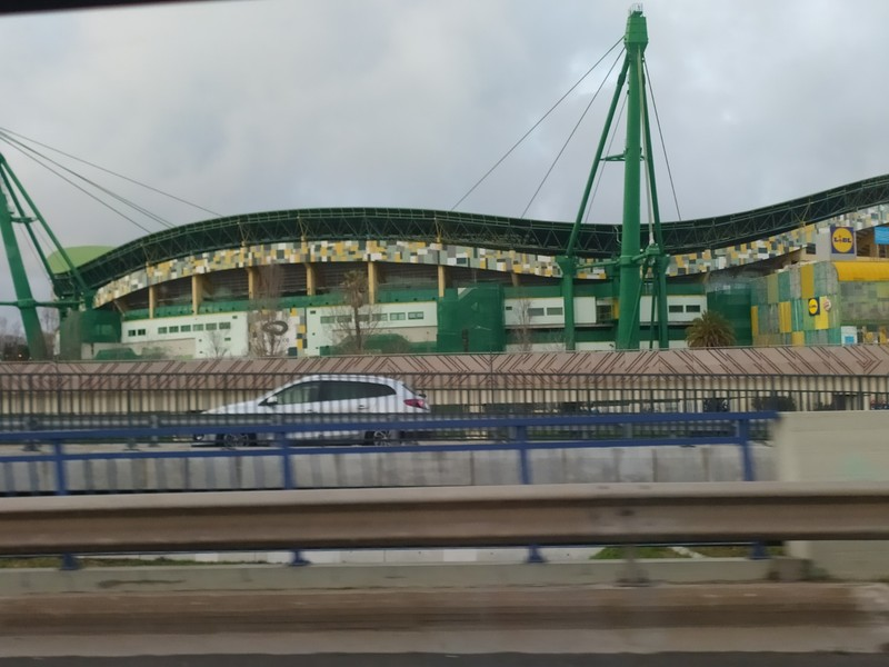 Sporting Lisboa Stadium.