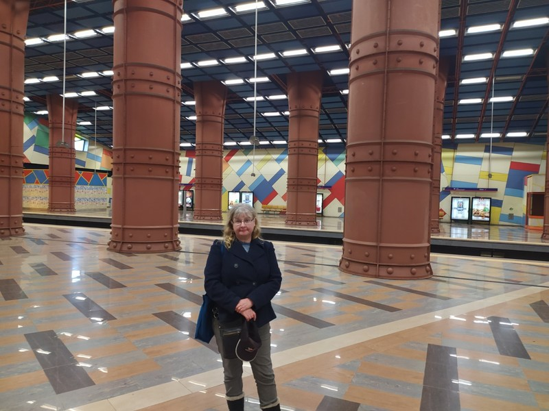 Olaias Station.