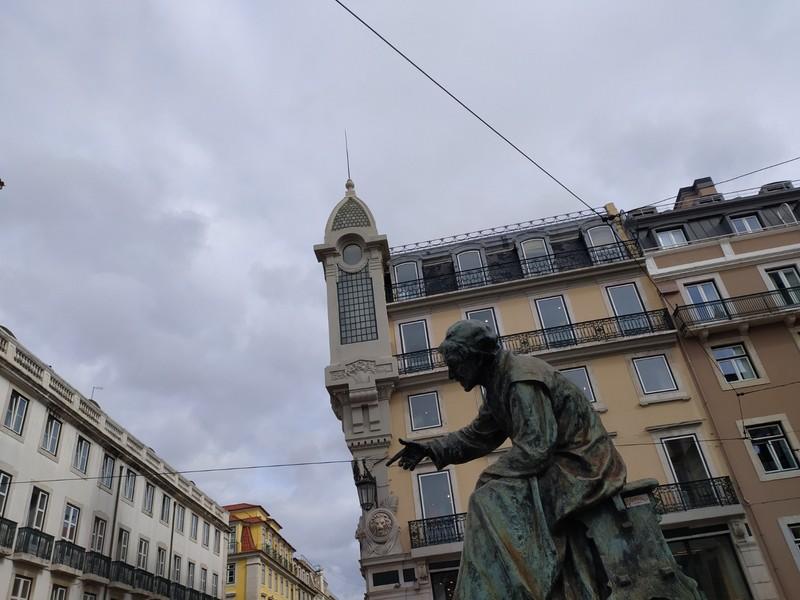António Ribeiro, hard to photograph due to construction work.