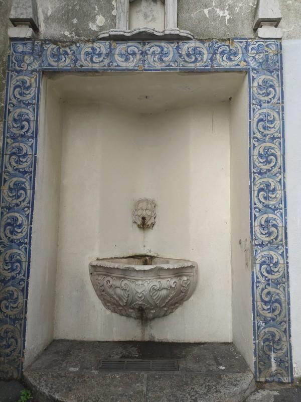 Fountain near Saint Vincent's Church.