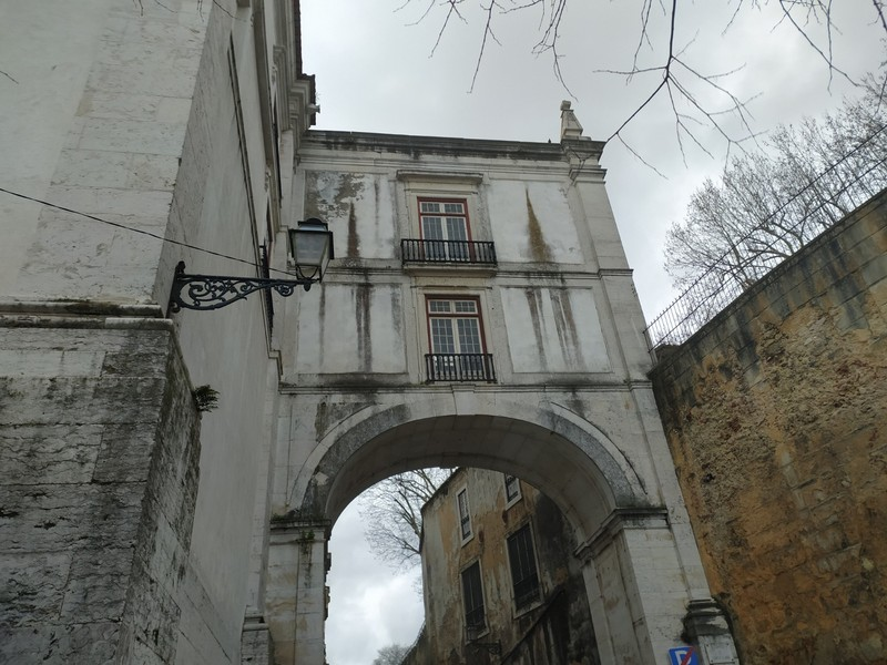 Bridge near Saint Vincent's Church.