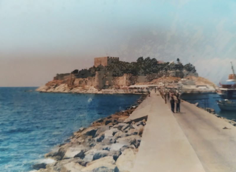 Kusadasi, island and castle.