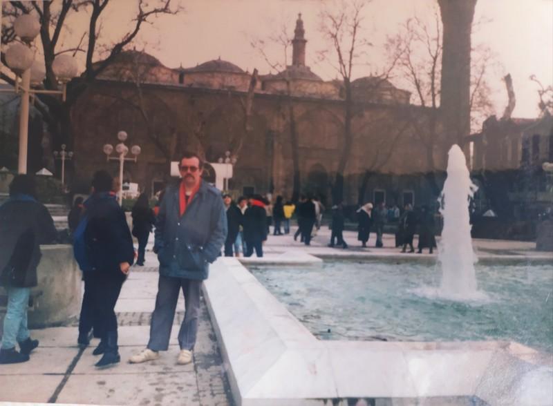 Main square, Bursa.