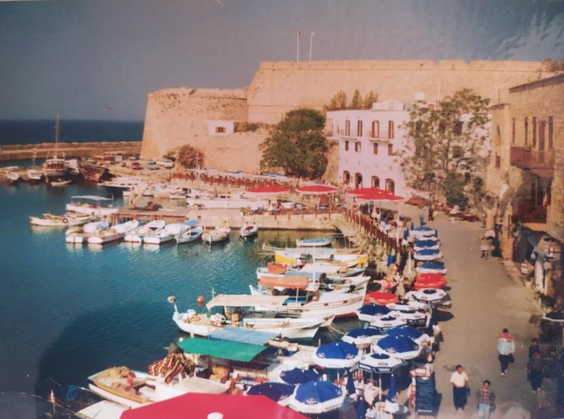 Girne Harbour.
