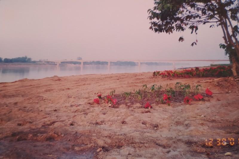 The banks of the Mekong River.