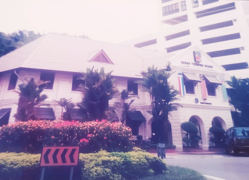 The old post office, now the Sabah Tourism Board.