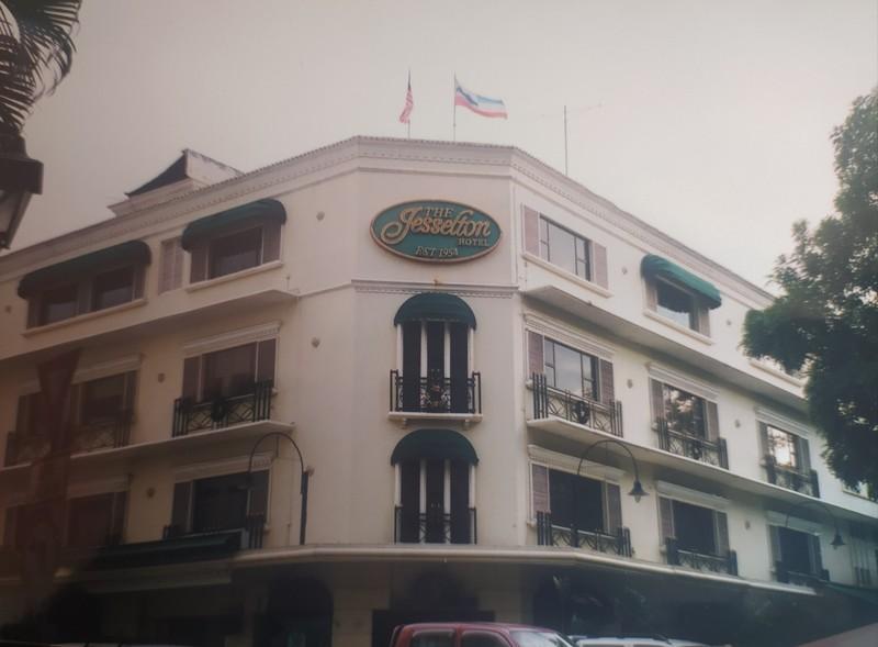 The Jesselton Hotel.