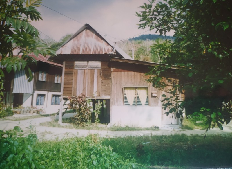 Typical Wooden House.