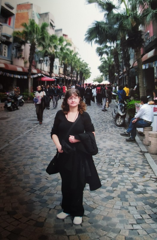 Me on Yingee Old Street.