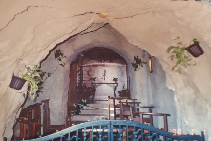 Gellert Cave Chapel.