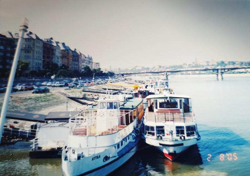 On the River Danube.