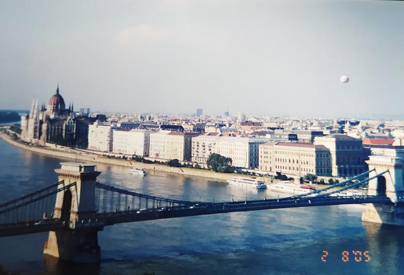 The River Danube.