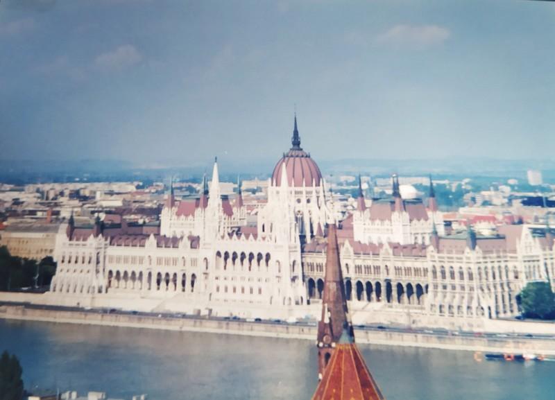 The Budapest Parliament.