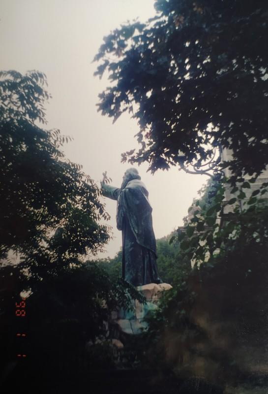 Saint Gellert Statue.