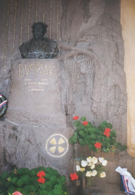 Dvorak's Grave.