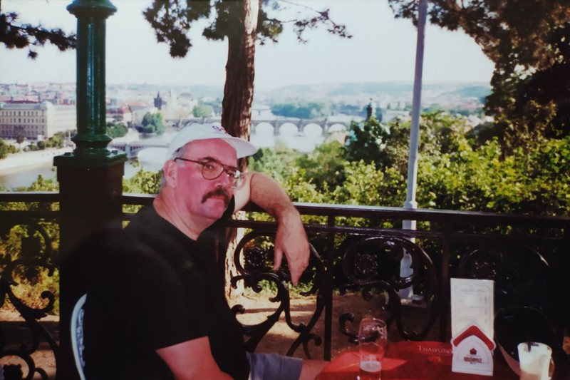 Prague had great food and beer.