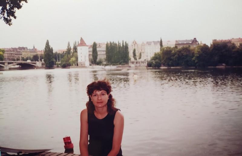On the Vltava River.