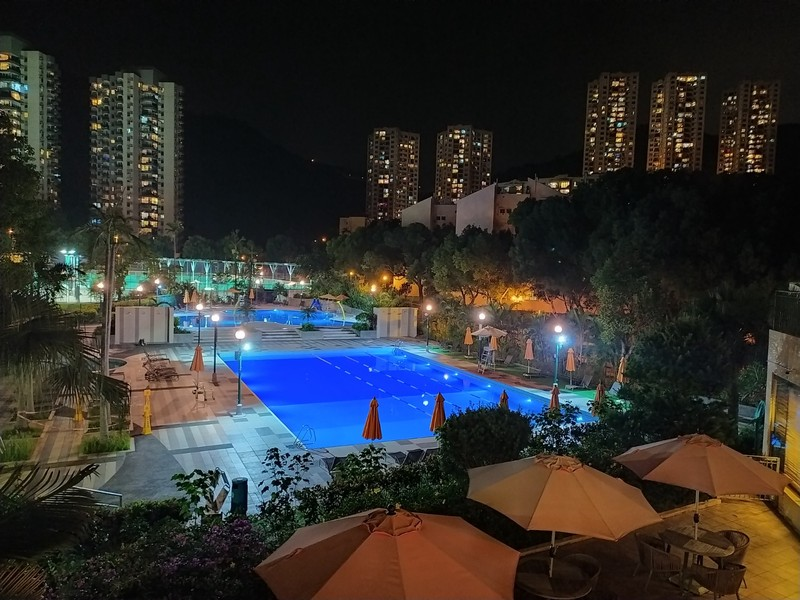 The other sports club pool.