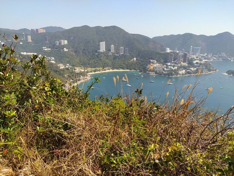View over Deep Water Bay.