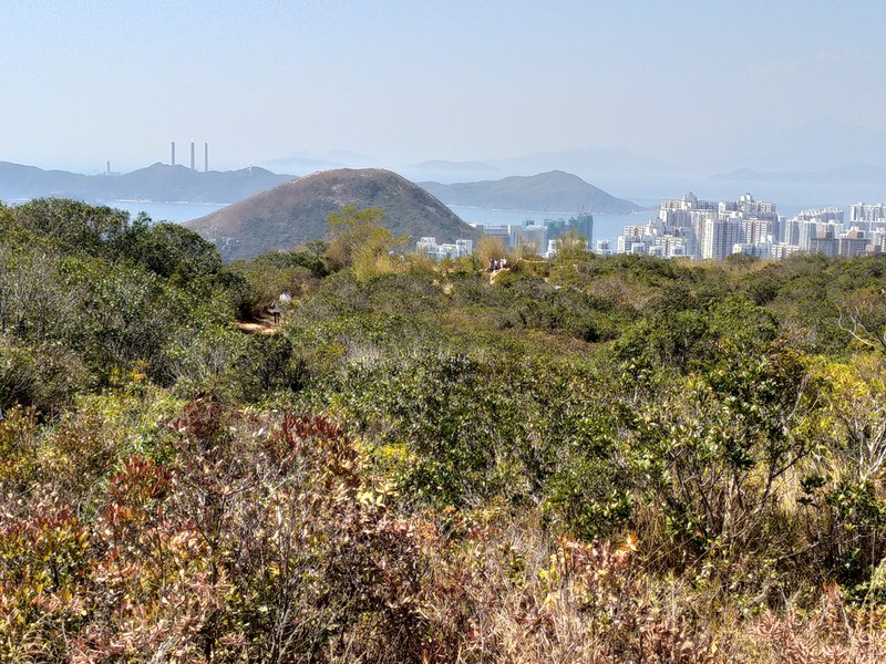 View over Lamma Island.