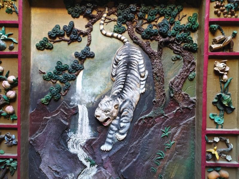 Tiger, Tin Hau Temple.