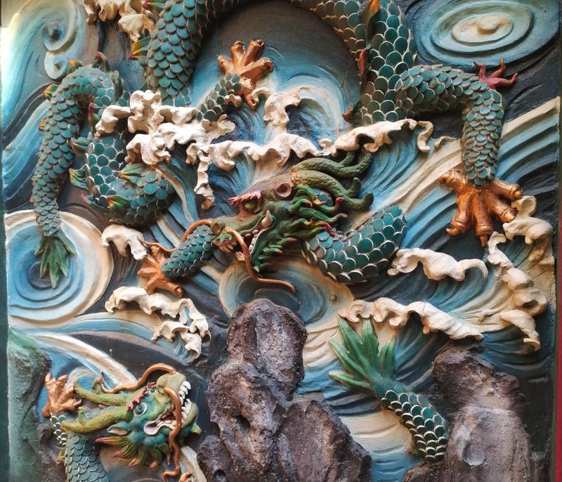 Dragon, Tin Hau Temple.