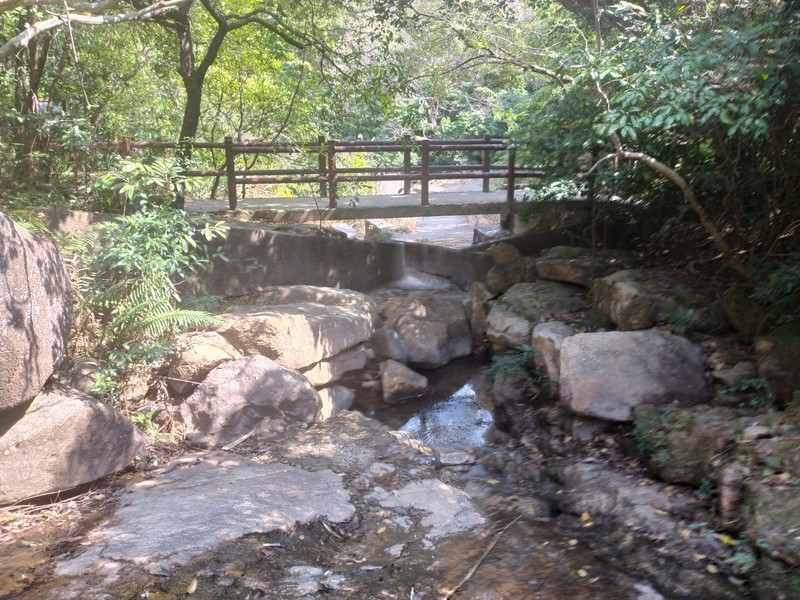 Bridge Over Stream.