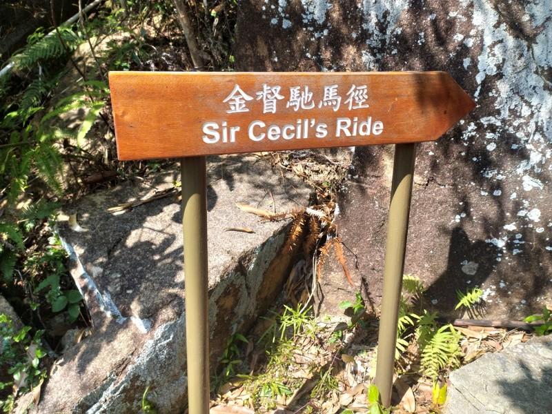 Sir Cecil's Ride.