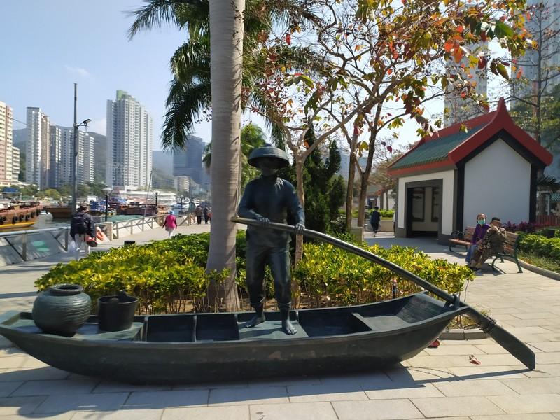 Fisherman Statue.