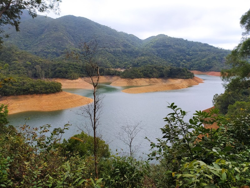 Shing Mun Reservoir.