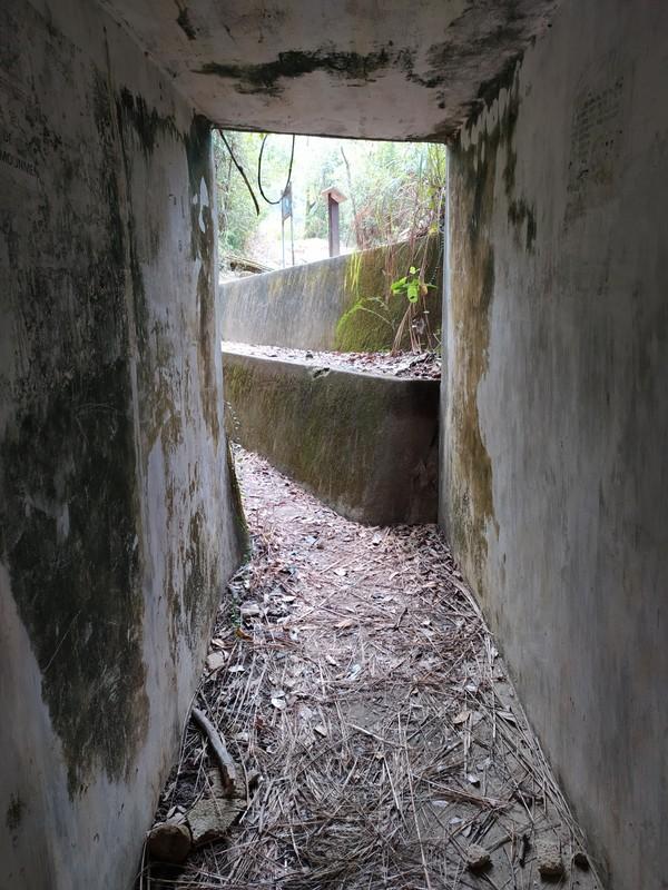 Inside a Tunnel.