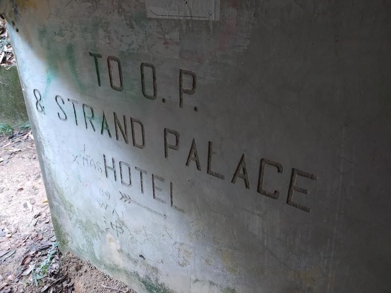 To Strand Palace Hotel.