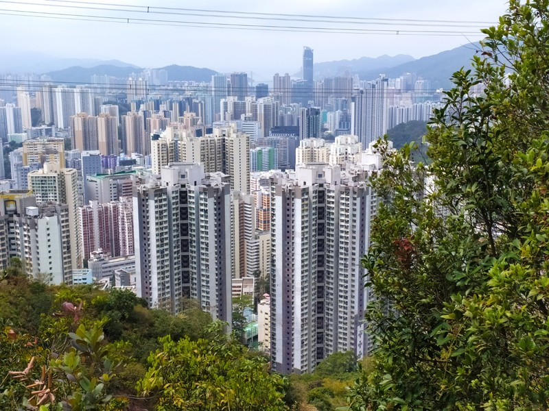 View over Kwai Cheung, Kowloon.