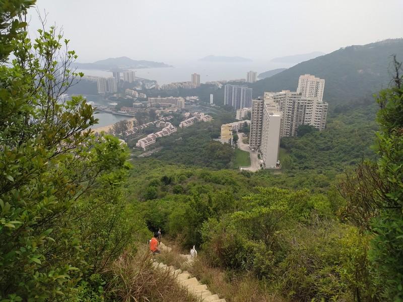 Views on the climb.